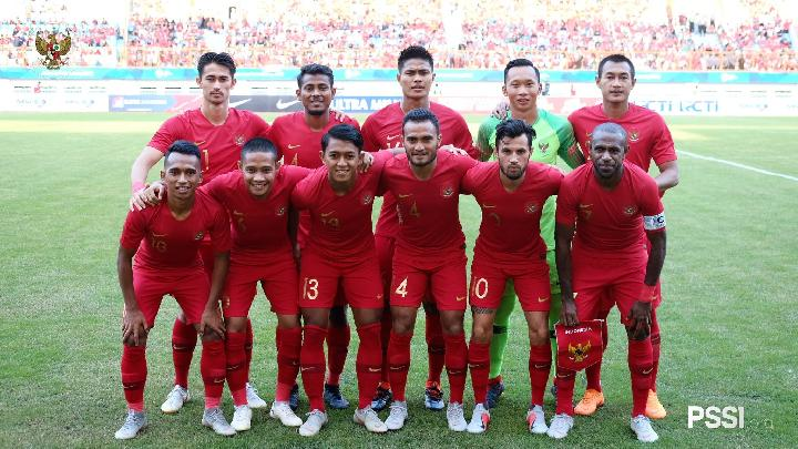Timnas Indonesia. (twitter/@pssi)