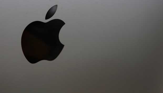 Logo Apple. REUTERS/Lee Jae-Won