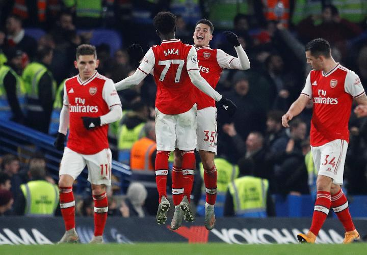 Arsenal. Reuters