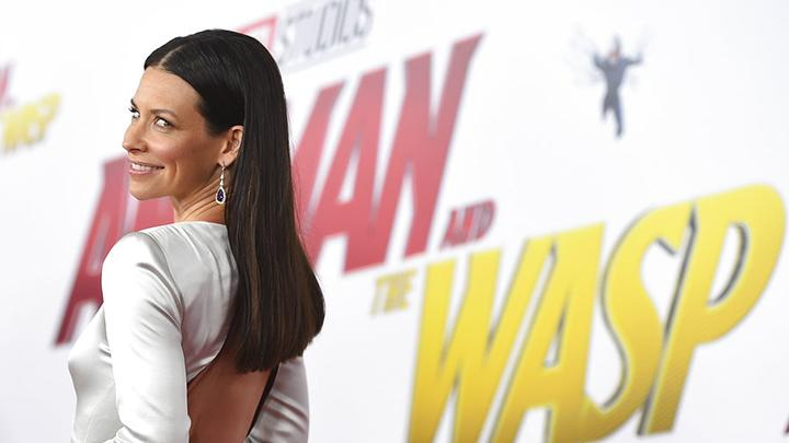 Evangeline Lilly tiba di premier Ant-Man and the Wasp, di Los Angeles, Senin, 25 Juni 2018. Film ini dirilis pada awal Juli 2018. AP/Jordan Strauss