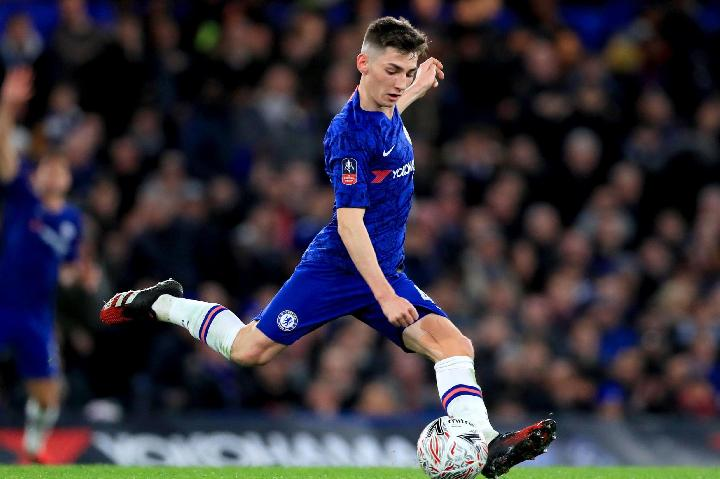Pemain Chelsea, Billy Gilmour. Reuters