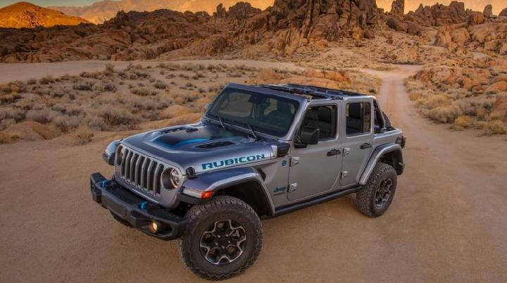 Jeep Wrangler Rubicon 4Xe. (Jeep)