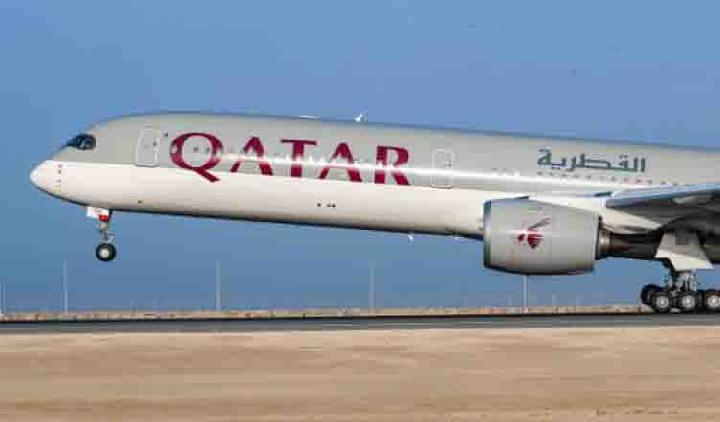 Qatar Airways.