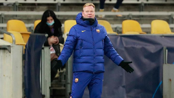 Ronald Koeman. REUTERS