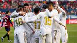 Real Madrid. Reuters