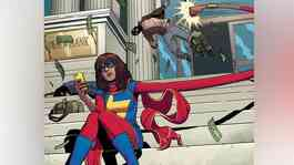 Tokoh superhero Avengers, Ms Marvel atau Kamala Khan. Marvel