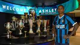 Ashley Young resmi jadi pemain Inter Milan. Dok. Inter Milan