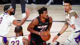 Pemain Miami Heat Jimmy Butler. Credit. Kim Klement/USA Today/Reuters.