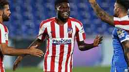 Pemain Atletico Madrid Thomas Partey. Doc. Instagram @thomaspartey5.