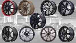 Velg HSR Wheel Boroko Series bergaya JDM. (HSR Wheel)